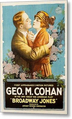 Broadway Jones, George M. Cohan Metal Print