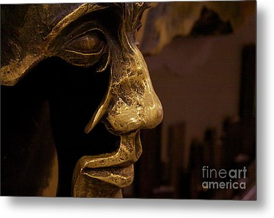 Broken Face Metal Print