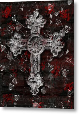 Metal Print featuring the photograph Broken Faith by Shelly Stallings