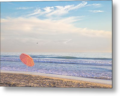 Brolly Metal Print by Peter Tellone