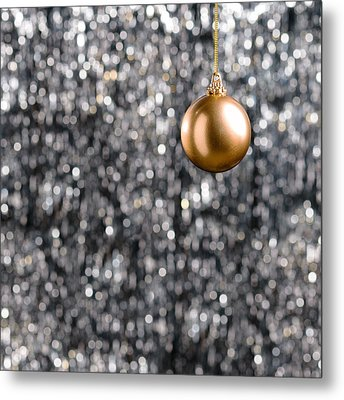 Metal Print featuring the photograph Bronze Christmas  by Ulrich Schade
