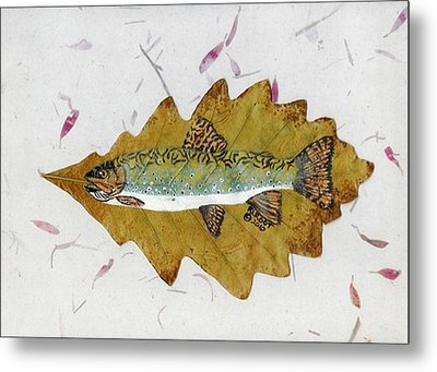 Brook Trout Metal Print by Ralph Root