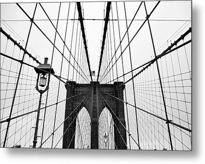 Brooklyn Bridge Metal Print by Thank you for choosing my work.