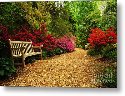 Brookside Gardens Metal Print