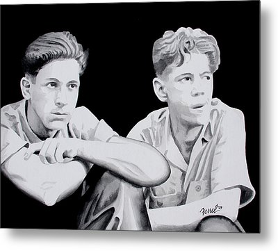 Brothers Metal Print by Ferrel Cordle