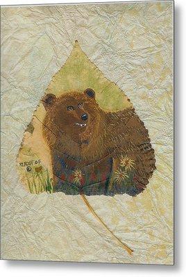 Brown Bear Metal Print by Ralph Root
