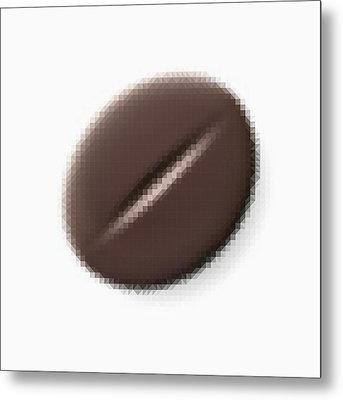 Brown Coffee Bean Metal Print