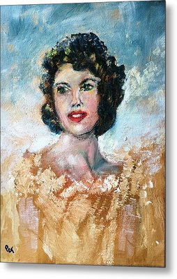 Brown Eyed Girl Metal Print by Patricia Taylor