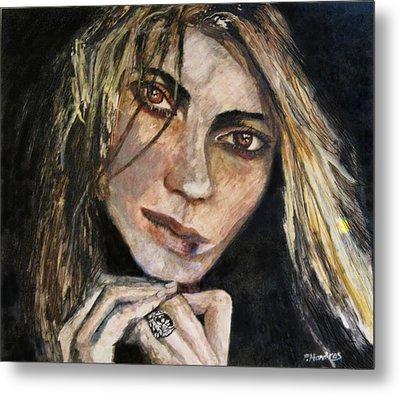 Brown Eyed Girl Metal Print by Penfield Hondros
