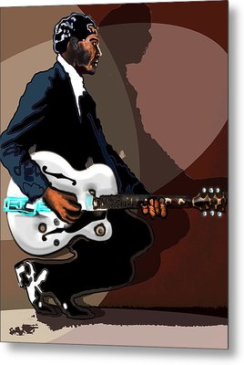 Brown Eyed Handsome Man-chuck Berry Metal Print