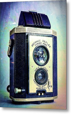 Brownie Reflex Metal Print by Jon Woodhams