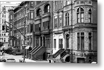 Brownstone Metal Print by Darren Martin