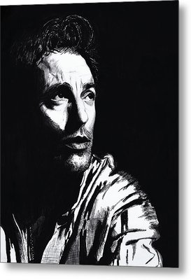 Bruce Metal Print by Mary Anne Hjelmfelt