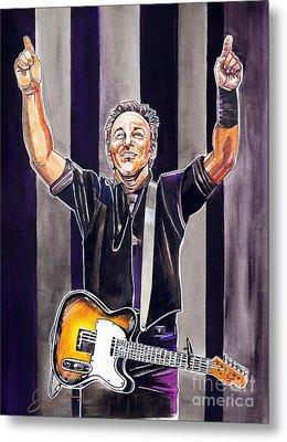 Bruce Springsteen Metal Print by Dave Olsen