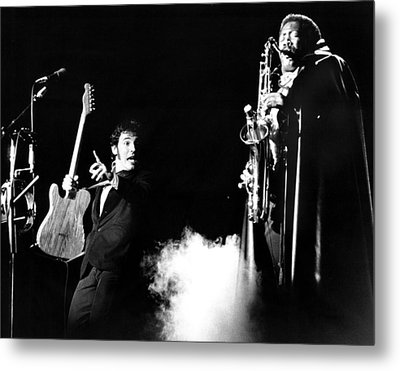 Bruce Springsteen - Halloween On E Street 1980 Metal Print by Chris Walter
