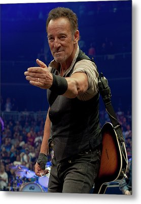 Bruce Springsteen. Pittsburgh, Sept 11, 2016 Metal Print by Jeff Ross