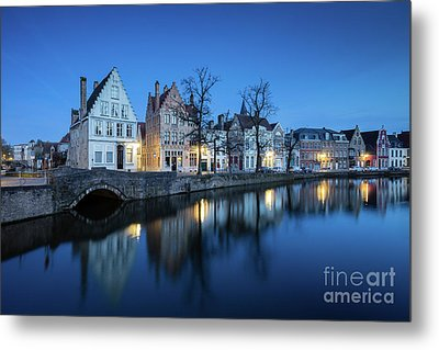 Magical Brugge Metal Print by JR Photography