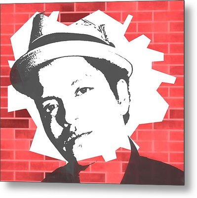 Bruno Mars Graffiti Tribute Metal Print by Dan Sproul