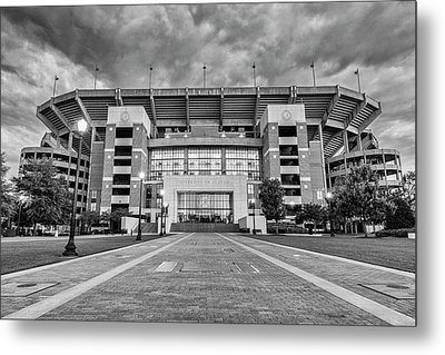 Bryant - Denny Stadium -- Walk Of Champions Metal Print