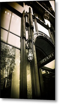 Bryant Park Hotel Metal Print