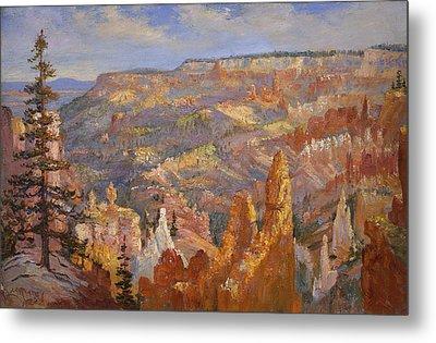 Bryce Canyon Metal Print by Lewis A Ramsey