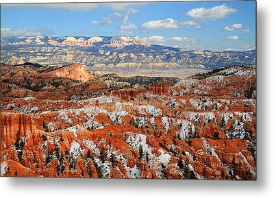 Bryce Canyon Sinking Ship Metal Print by Pierre Leclerc Photography