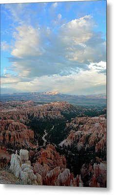 Metal Print featuring the photograph Bryce Canyon Skyview by Bruce Gourley