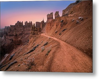 Bryce Canyon Sunset Metal Print by Larry Marshall