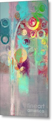 Metal Print featuring the digital art Bubble Tree - 285r by Variance Collections