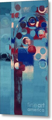 Metal Print featuring the painting Bubble Tree - 85l-j4 by Variance Collections