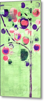 Metal Print featuring the digital art Bubble Tree - 224c33j5l by Variance Collections