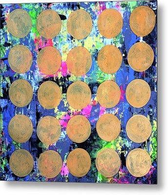 Bubble Wrap Print Poster Huge Colorful Pop Art Abstract Robert R Metal Print