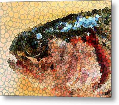 Bubbles Metal Print by Carol Grimes