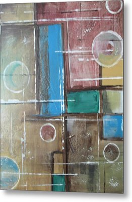 Bubbles In The Air Metal Print by Sharyn Winters