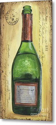 Bubbly Champagne 3 Metal Print by Debbie DeWitt