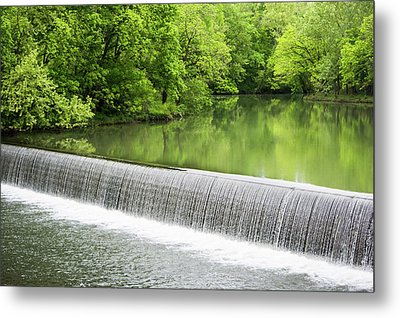Metal Print featuring the photograph Buck Creek Greens by Parker Cunningham