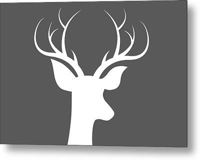 Buck Deer Metal Print