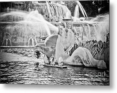 Buckingham Fountain Chicago Metal Print