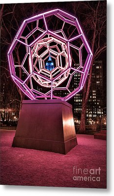 bucky ball Madison square park Metal Print by John Farnan