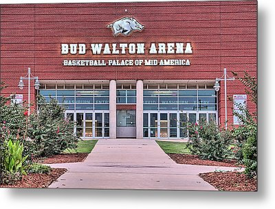 Bud Walton Arena Metal Print by JC Findley