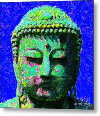 Buddha 20130130p18 Metal Print by Wingsdomain Art and Photography