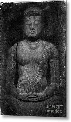 Buddha Metal Print by Edward Fielding