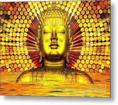 Buddha Effulgence Metal Print
