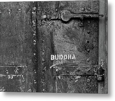 Metal Print featuring the photograph Buddha by Laurie Stewart