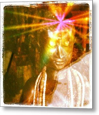 Buddha Light Metal Print