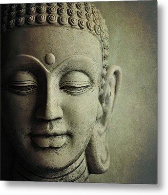 Buddha Metal Print by Photo - Lyn Randle