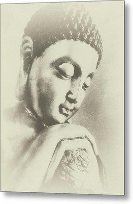 Buddha Profile Dream Metal Print