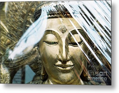Metal Print featuring the photograph Buddha Protected by Dean Harte