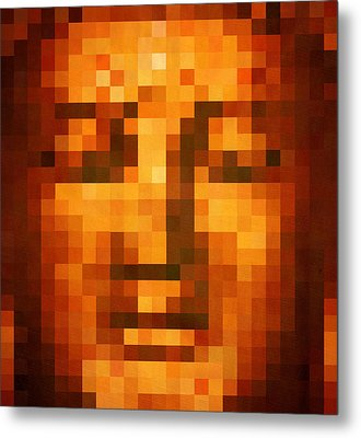 Buddha Metal Print by Art Spectrum