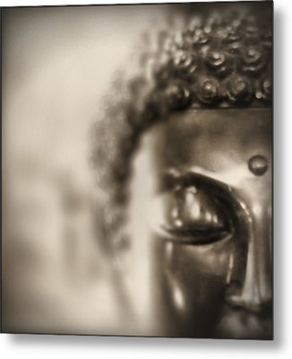 Metal Print featuring the photograph Buddha Thoughts by Douglas MooreZart